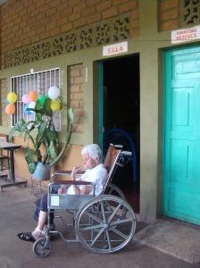 Deze mevrouw is al 100 jaar